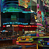 The Fluidity of Light - Times Square New York