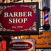 Barber Shop - Restaurant - Noodle Shop - New York City Shop Signs
