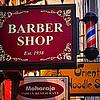 Barber Shop - Restaurant - Noodle Shop - New York City Shop Signs