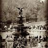 Bethesda Fountain in Central Park New York
