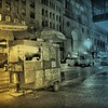 Oasis in the Night - Street Vendors of New York City