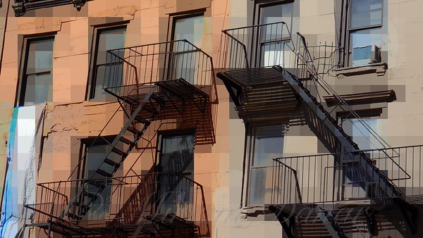 Modern-Day West Side Story - Old Buildings of New York City