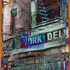 Deli One - New York City Street Scene - Neo-Grundge