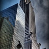 Chrysler Building from Below - Famous Buildings and Landmarks of New York City