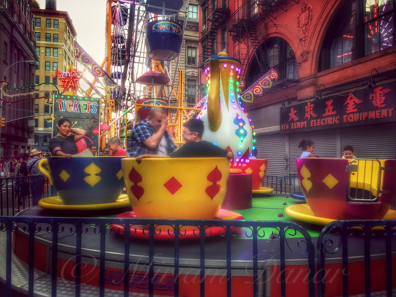 At the Feast of San Gennaro - Teacups A-Whirl