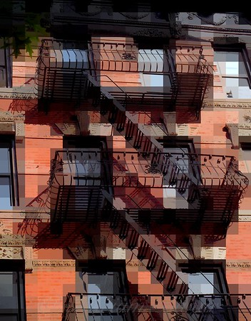 WindowScape 11 - Old Buildings of New York City
