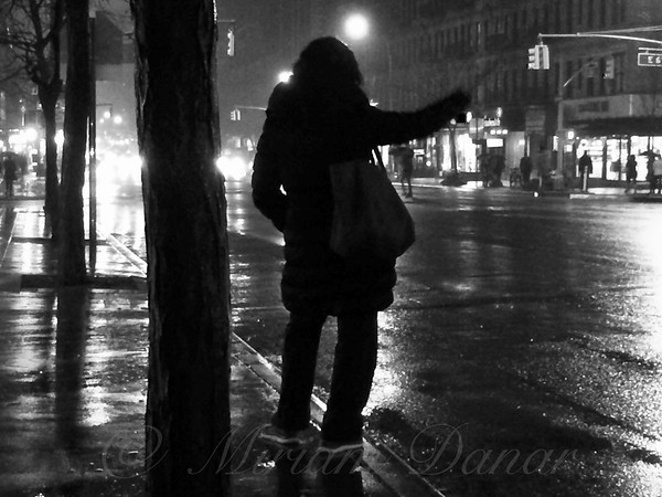 Rainy Night - Hailing A Cab