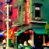 Sidewalk Cafe - Neighborhoods of New York City