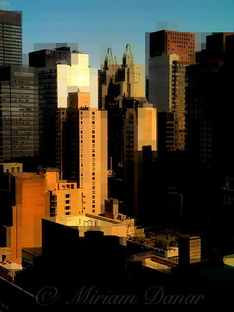 "City Blocks No. 2 - SKyline and Architecture of New York City - ""City Blocks - Building Blocks"" series"