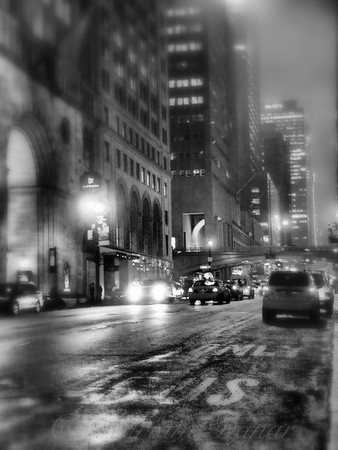 10 PM on 42nd Street - New York City at Night
