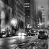 10 PM on 42nd Street - New York City at Night