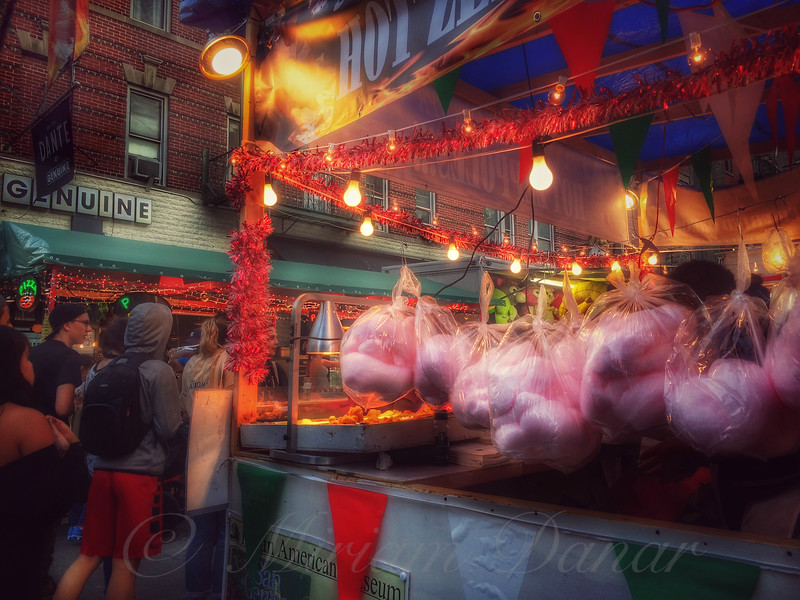 At the Feast of San Gennaro - Cotton Candy