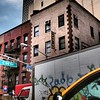 Tribute to Leger - Building with Modern Zigzag Decoration - Architecture of New York City