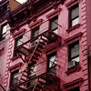 Gilded Age in Pink - Fire Escapes of New York