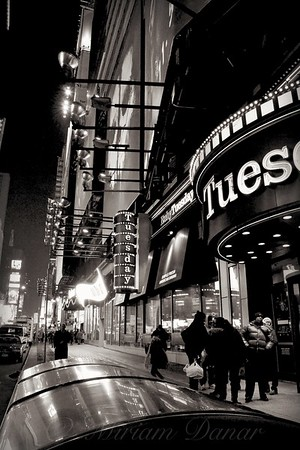 Ruby Tuesday's Times Square - New York at Night