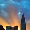 Ethereal Sunset No. 7 - New York City Skyline