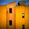 Composition in Blue and Gold 2 - Architecture of New York City