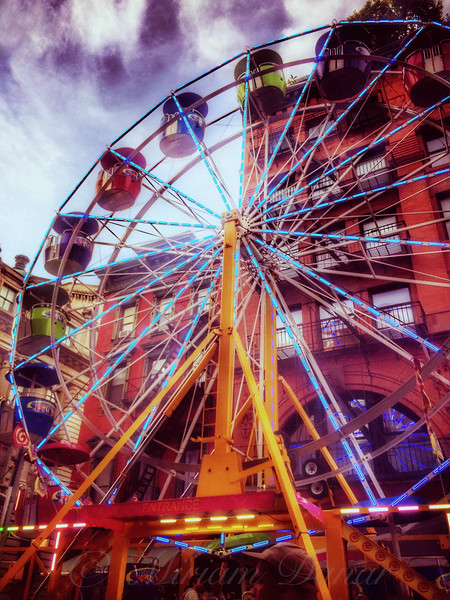 At the Feast of San Gennaro - Ferris Wheel
