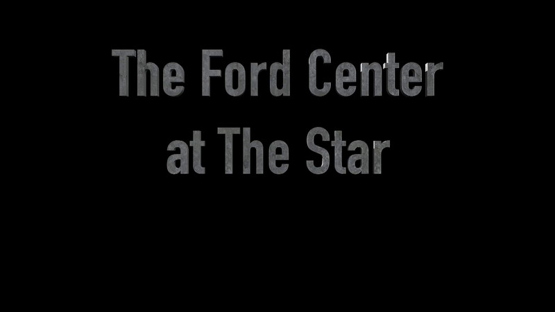 The Ford Center at the Stars Aerial
