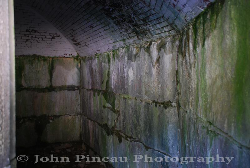 Inside Granite Powder Magazine<br /> Fort McClary - Kittery, Maine<br /> 20090916-DSC_9388
