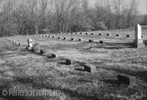 High Price - This shot of some of the gravestones at the Confederate State Park highlight just how costly the war was, especially here in central Missouri.
