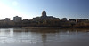 Riverside Capitol - View of the Missouri State Capitol Building from the Northern shore of the Missouri River.