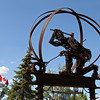 Commemorating the Railway, Dawson Creek BC