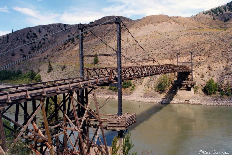 Bridge in BC Badlands, Cariboo region