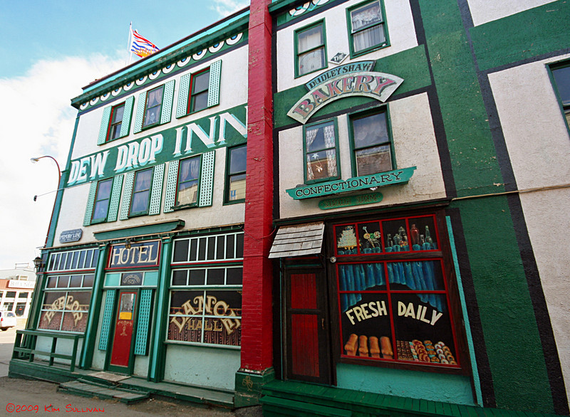 Dew Drop Inn, Alaska Hotel, Dawson Creek BC