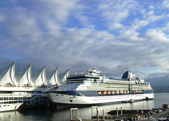Canada Place cruise ship terminal, Vancouver BC