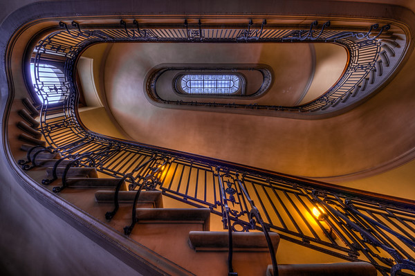 Minnesota State Capitol HDR Stairwell