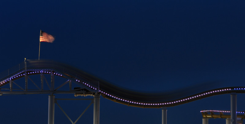Roller Coaster, Santa Monica Pier, Los Angeles
