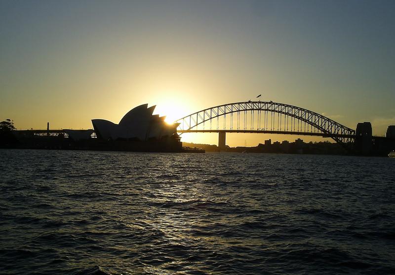 Sydney Opera House Sunset