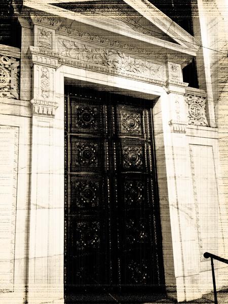 New York Public Library Entrance