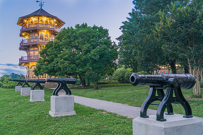 Cannons and Pagoda