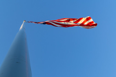 Flag at Patterson Park