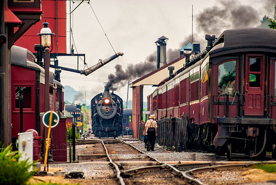 Strasburg Rail Road on Independence Day