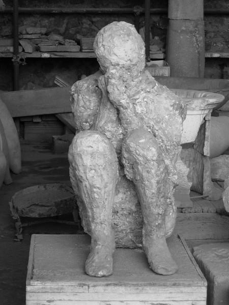 Pompeii Body Cast