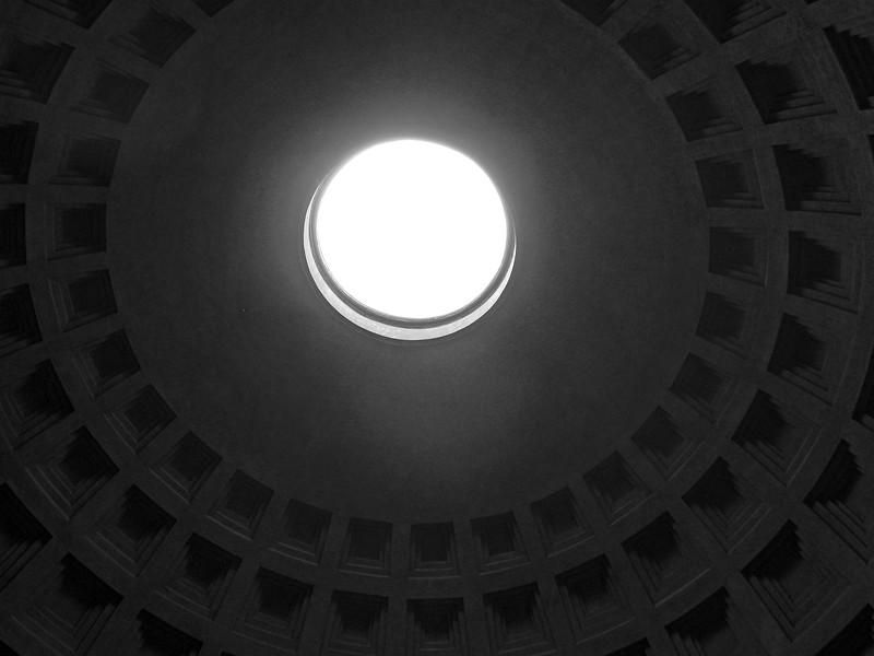 Rome Pantheon Oculus