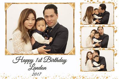 Landon's First Birthday
