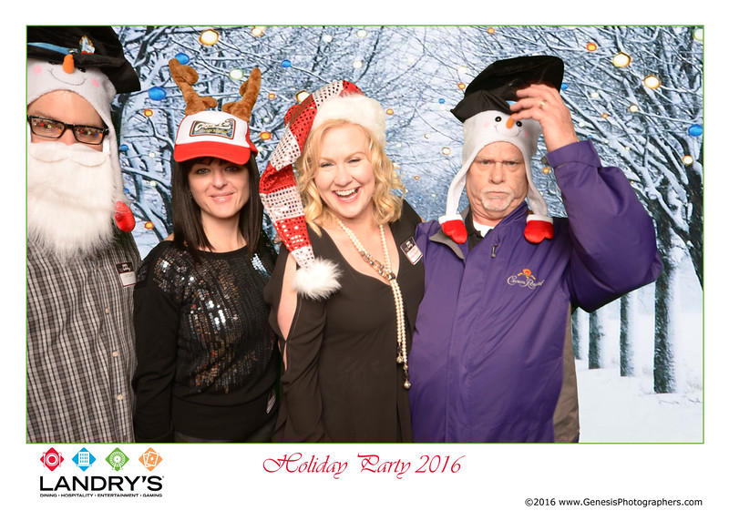 Landrys Corporate Christmas 2016