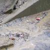 Sediment deposit in tributary. Northeast quadrant of I-495/Braddock Rd interchange. 28 Feb 2011