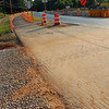 Dirt from ICC construction site tracked onto road