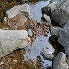 , water so clear you can see the rocks at the bottom,