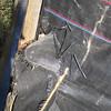 Gap in corner of silt fence.  Southwest quadrant of I-495/Rt 236 Rd interchange. 13 Oct 2010