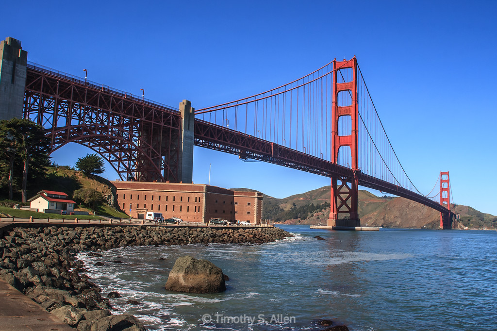 Fort Point and the Golden Gate