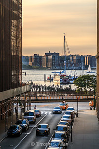 Late Afternoon on the Hudson River
