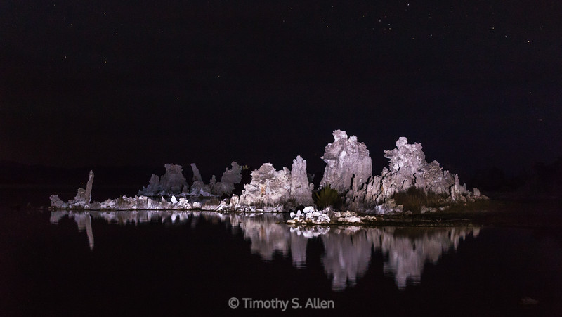 Tufa at Night