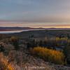 Sunrise Over Mono Lake and Lee Vining Canyon