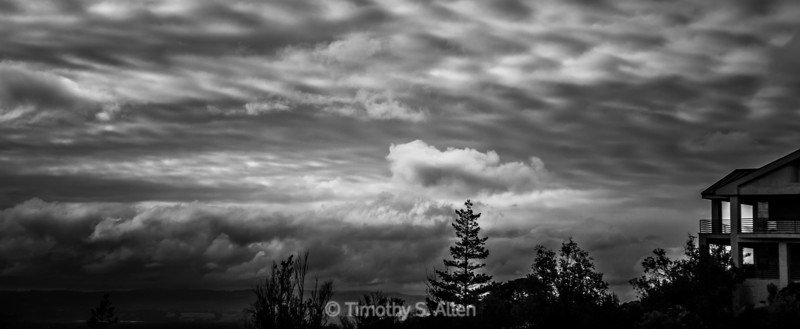 CLOUDS IN BLACK & WHITE